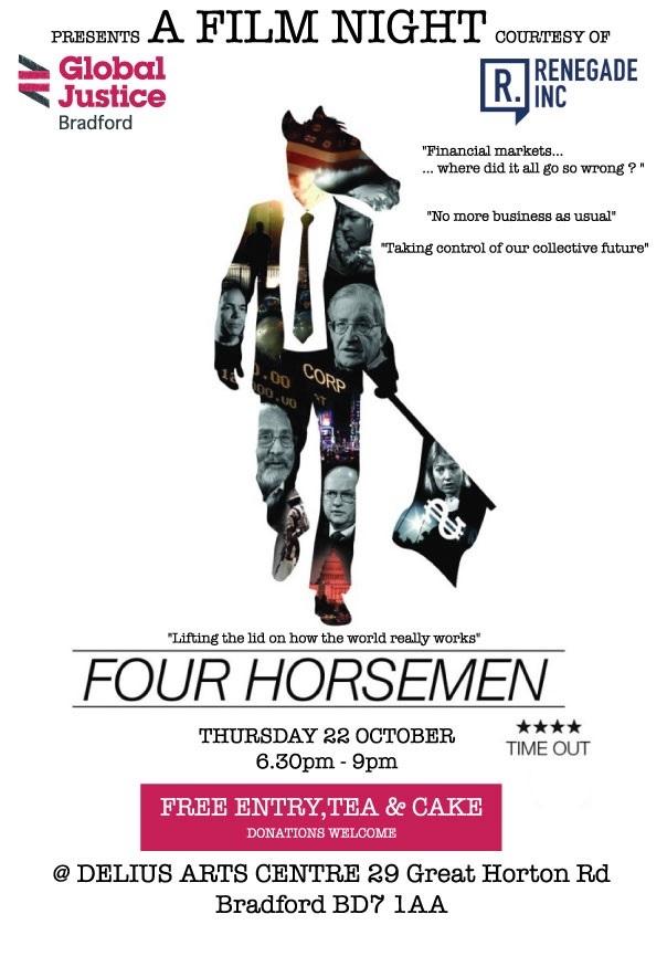 Four Horsemen film flier