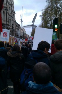Climate march London 29 Nov 2015