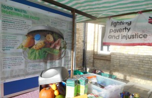 Reduce food waste stall