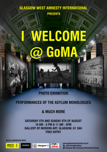 I welcome exhibition poster