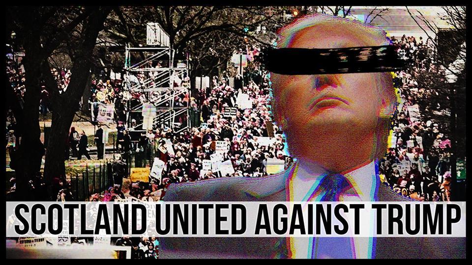 Scotland united against Trump