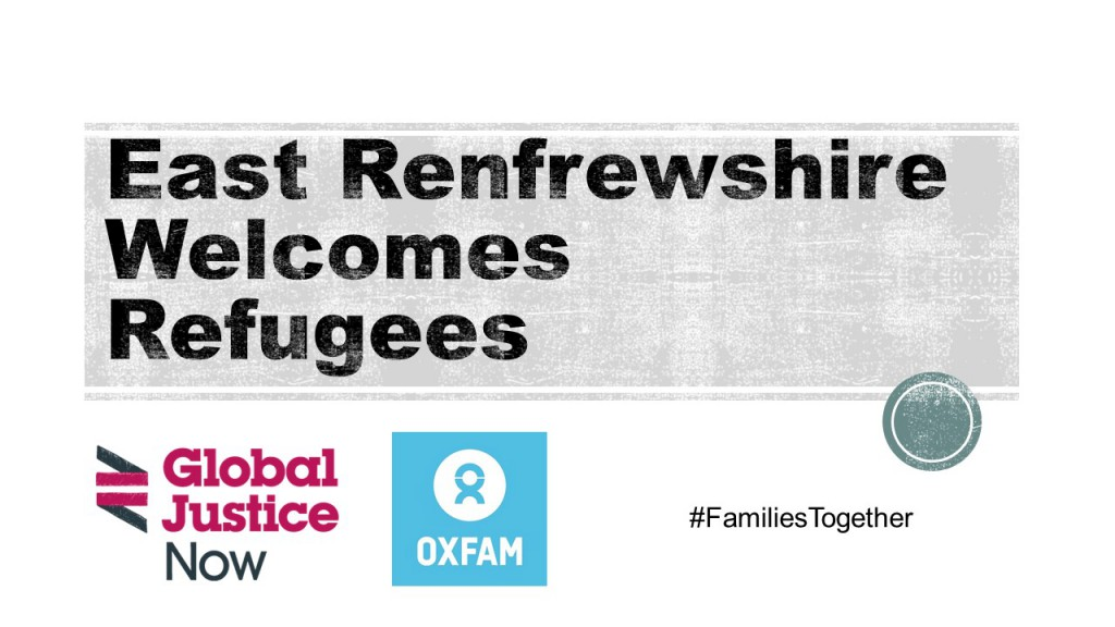 East Renfrewshire Welcomes Refugees