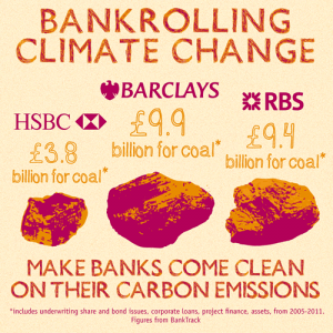 Make bankers come clean on their carbon emission