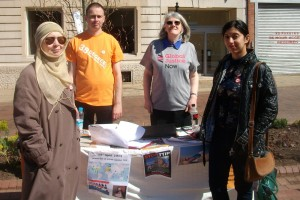 TTIP Stall Leicester