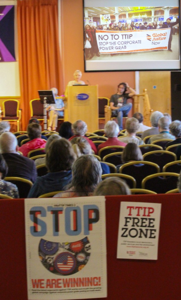 Stop TTIP campaigning