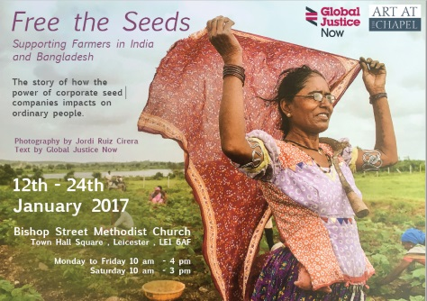 Free the seeds poster