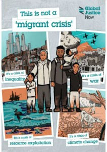Not a migrant leaflet