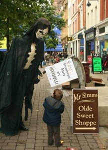Will the grim Reaper help HSBC Destroy this child's Future?