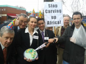Organisations from across Manchester call for an end to land grabs in Africa