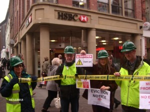 HSBC Carbon Capital Protest