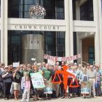 Trade Justice demonstration