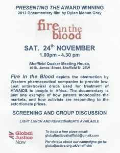 2018 11 24 Fire in the Blood A5 flyer jpeg