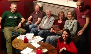 Photo of Shropshire WDM group meeting